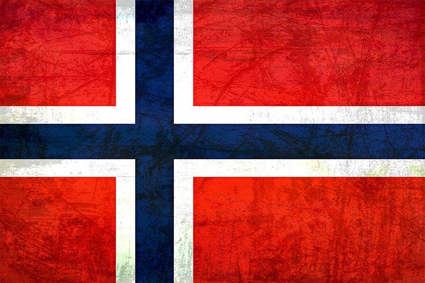 Papier peint Norvège