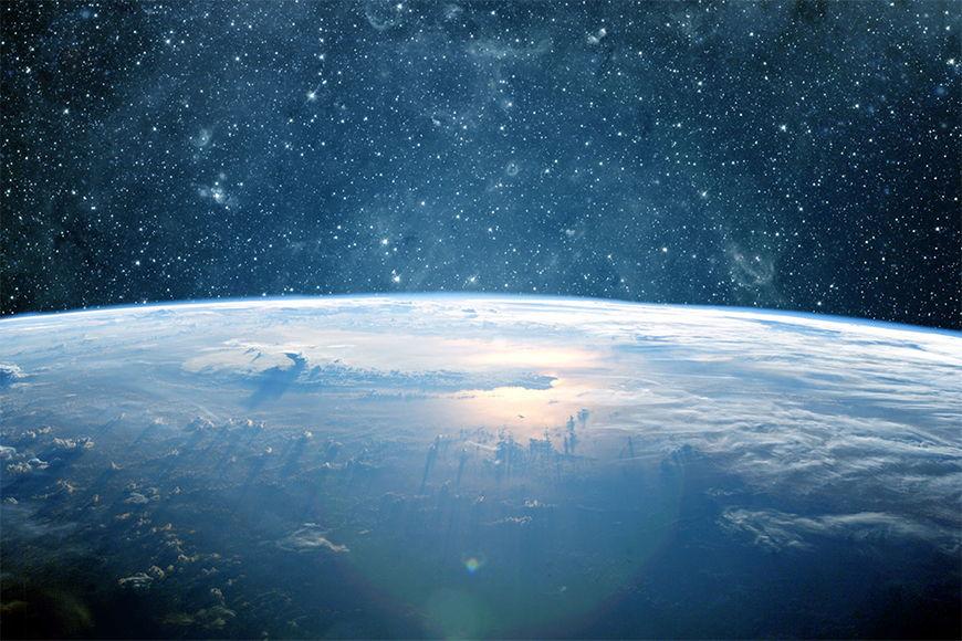 Papier peint Planète Terre 120x80cm et plus