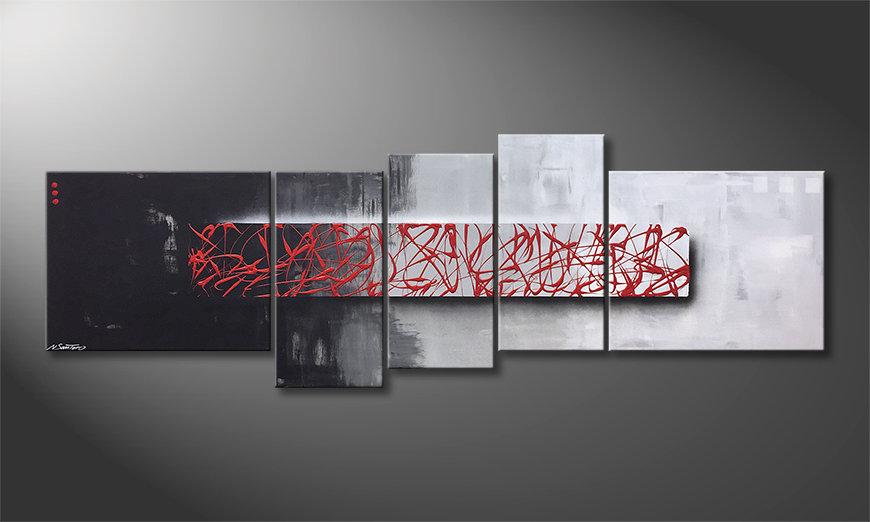 Art moderne An Instant 210x70x2cm