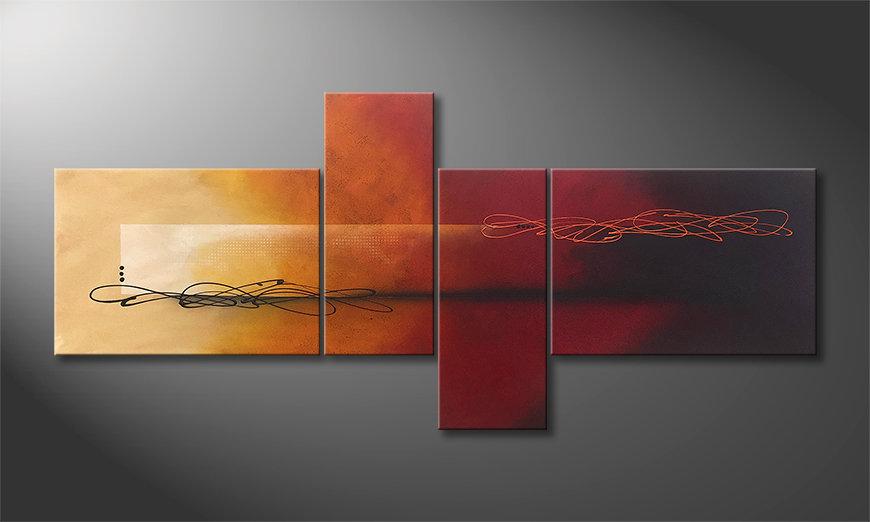 Art moderne Into the Night 200x90x2cm