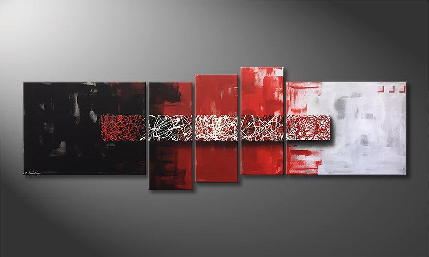 La belle peinture Contrast Lines 210x80x2cm