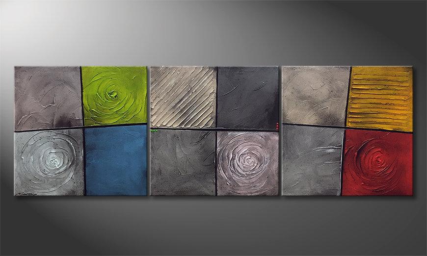 La belle peinture Kittenish Moments 225x75x2cm