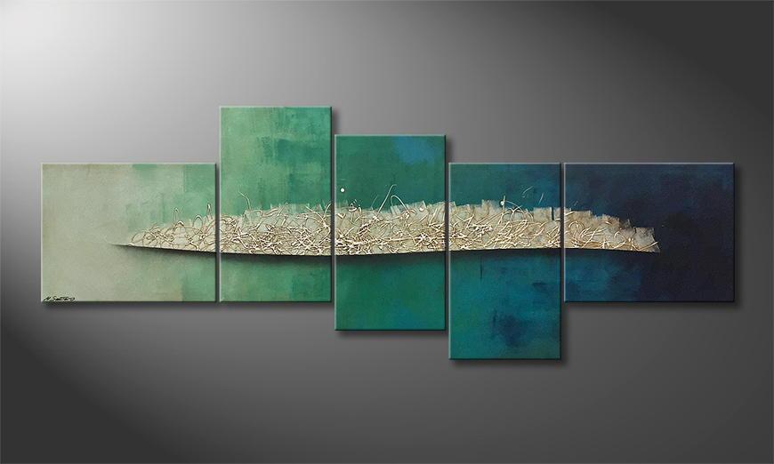 La peinture exclusive Liquid Frost 240x90x2cm